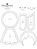 Josephine Doll Paper Doll Template