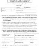 Fillable Form 45899 Independent Contractor Affidavit Of
