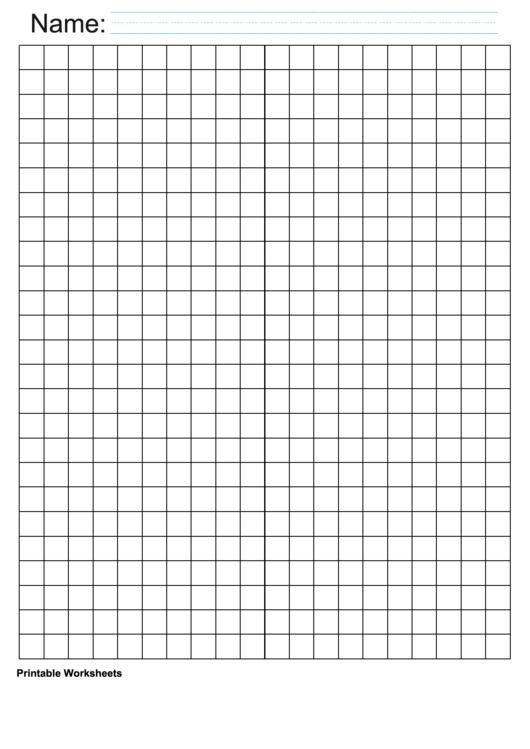 Black Centimeter Graph Paper Printable pdf