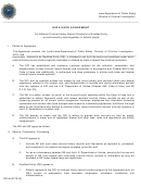 Form Dci-44 - Iowa User Agreement - Iowa Division Of Criminal Investigation
