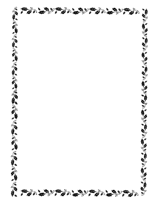 Christmas Decorated Paper For Acrostic Template