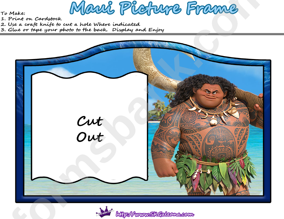 Mauni Picture Frame Template