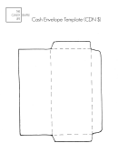 Cash Envelope Template