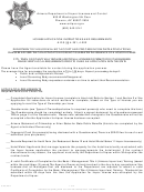 License Application Instructions And Requirements - Arizona Department Of Liquor Licenses And Control