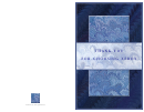 Blue Full Size Thank You Note Card Template
