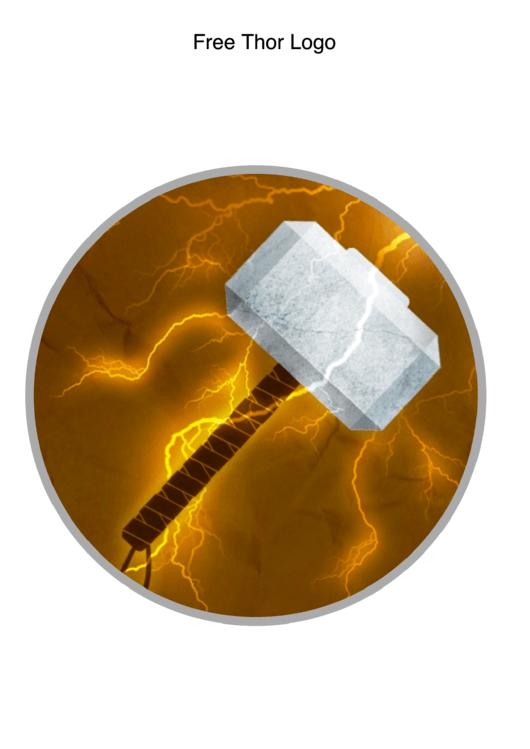 Thor Logo Template
