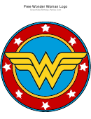 Wonder Woman Logo Template