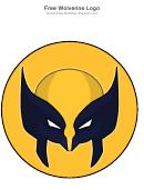 Wolverine Logo Template