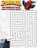 Spider-man Maze Game Template