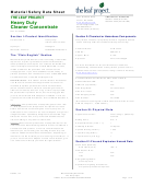 Material Safety Data Sheet - The Leaf Project Heavy Duty Cleaner Concentrate