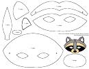 Raccoon Mask Template Printable Pdf Download
