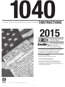 Form 1040 Instructions - 2015