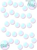 Bubbles Game Board Template