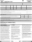 California Schedule D (541) - Capital Gain Or Loss - 2012