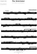 S. Joplin - The Entertainer Sheet Music