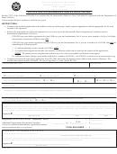 Form Rv-253 - Application For Snowmobile Dealer Registration