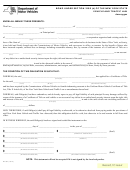 Form Mv-994 - Bond Under Section 2105 (d) Of The New York State Vehicle And Traffic Law