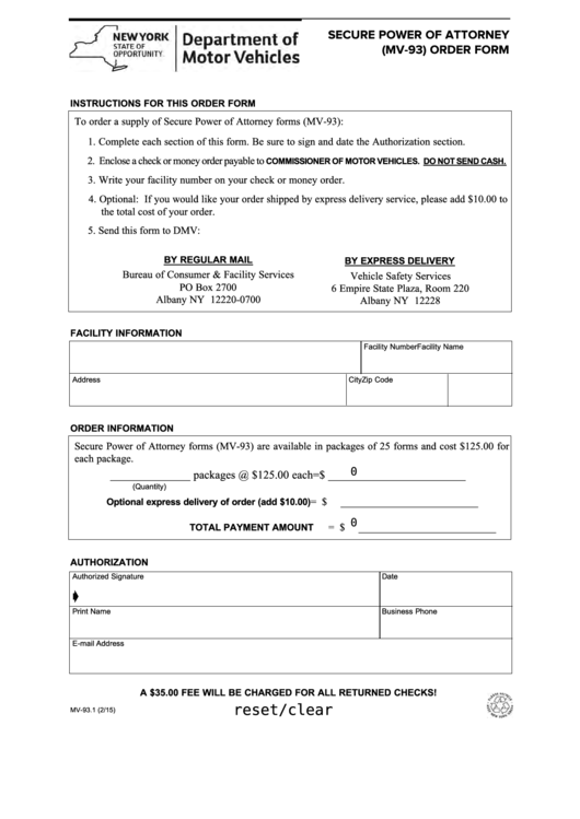 page_1_thumb_big Power Of Attorney Form New York State on free printable, sample limited, north carolina, printable medical, texas durable, military durable, new york blank durable,