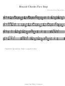 A Gu-achi Chotis - Biscuit Cheeks Two Step Sheet Music