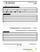 Form Mv-900 - Notice Of Lien