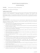 Position Description Template - Administrative Assistant - Membership