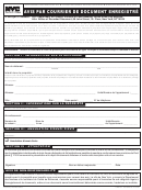 Form Cr-0101 - Notice By Mail Of Recorded Document (french)