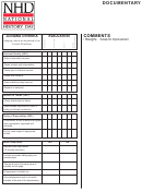 Documentary Evaluation Form