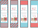 Dr. Seuss Quotes Bookmarks Template