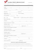 Medical Registration Form