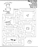 Mouse Maze Game Template