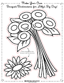 Make Your Own Bouquet Activity Sheet