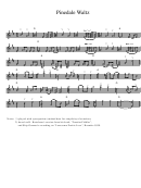 Pinedale Waltz Sheet Music