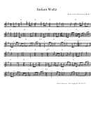Run Of The Mill String Band - Italian Waltz Sheet Music