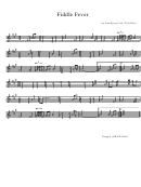 Annbjorg Lien - Fiddle Fever Sheet Music