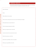 Screening Checklist Form