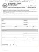Form Ib-001 - Consumer Complaint Template