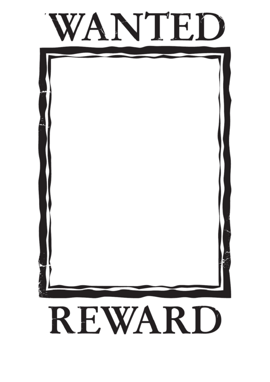 Wanted Poster Templste