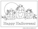 Pumpkin Coloring Sheets