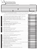 Form Int-2 - Bank Franchise Tax Return - 2013