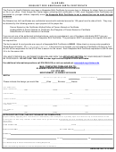 Form Adph-hs-14h - Alabama Request For Keepsake Birth Certificate