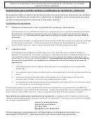 Form Adph-hs-33s - Instrucciones Para Solicitar Cambios A Certificados De Nacimiento Y Defuncion