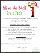 Elf On The Shelf Kids Activity Sheets
