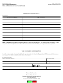 Form Boe-91-a - Tax Preparer Request To Electronically File Tax Returns