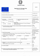 Application For Schengen Visa - Embassy Of Italy, People's Republic Of Bangladesh