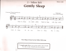 Gently Sleep Traditional Song Sheet Music