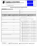 Mechanical Permit Application - California Planning Development