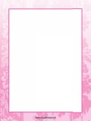 Flowers Page Border Templates