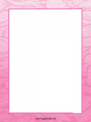 Pink Lines Page Border Templates