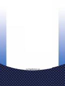 Blue Squares Page Border Templates