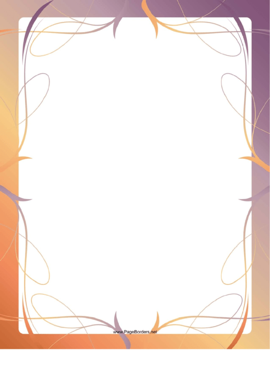 Lines Page Border Templates